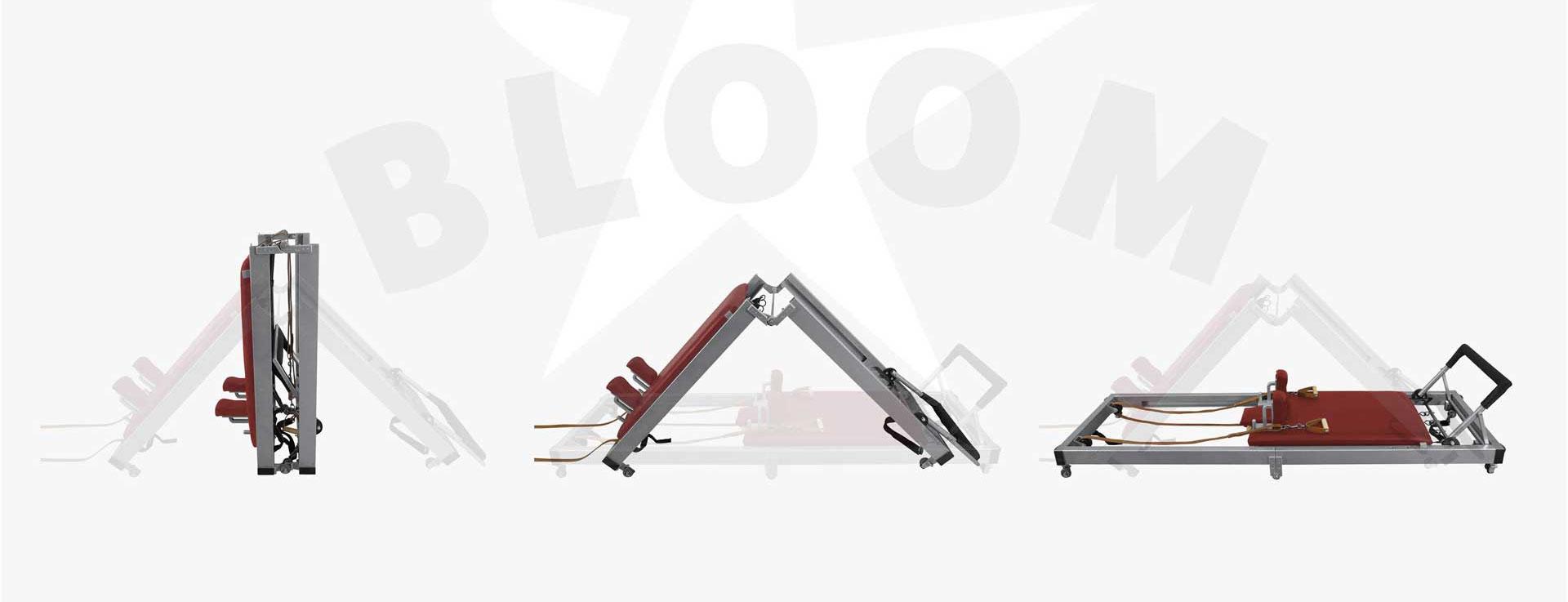 Folding Classical reformer - pilates equipment