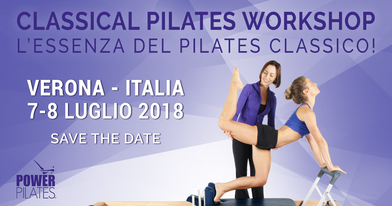 "CLASSICAL PILATES WORKSHOP ""L'ESSENZA DEL PILATES CLASSICO"""
