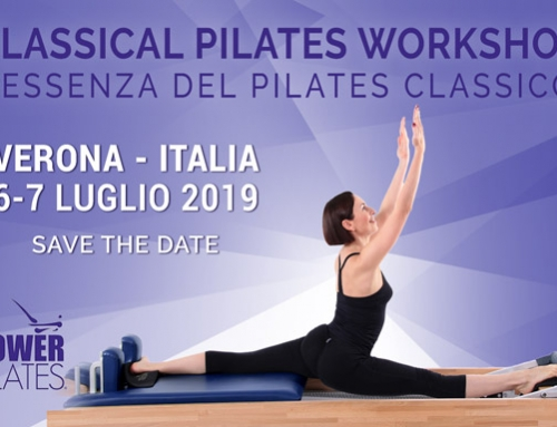 CLASSICAL PILATES WORKSHOP 6-8 LUGLIO 2019 VERONA