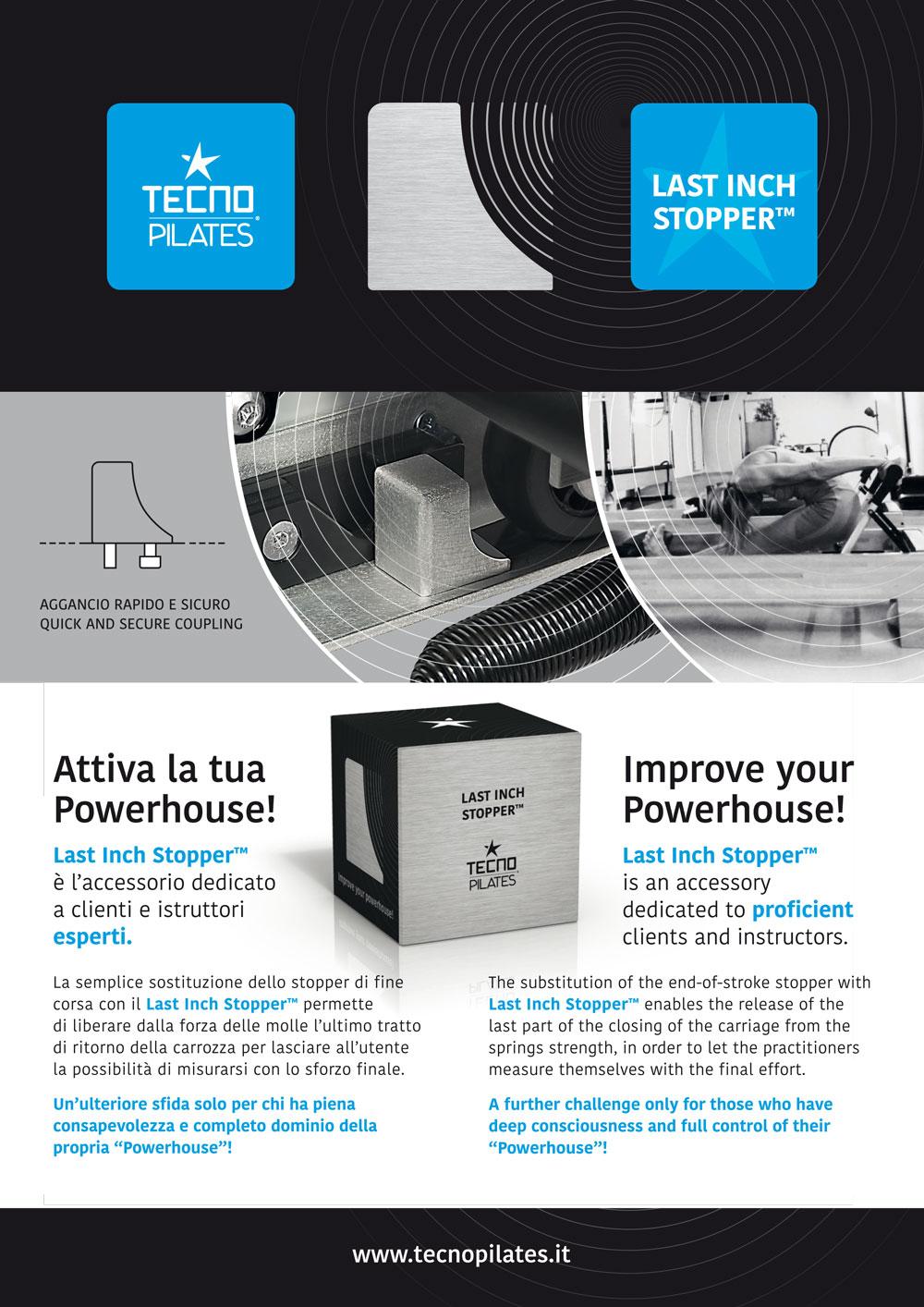 Last Inch Stopper - attrezzi pilates / pilates equipment