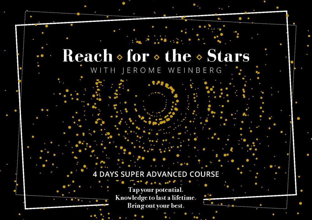 REACH FOR THE STARS – CON JEROME WEINBERG DAL 27 AL 30 MARZO 2020 A MILANO
