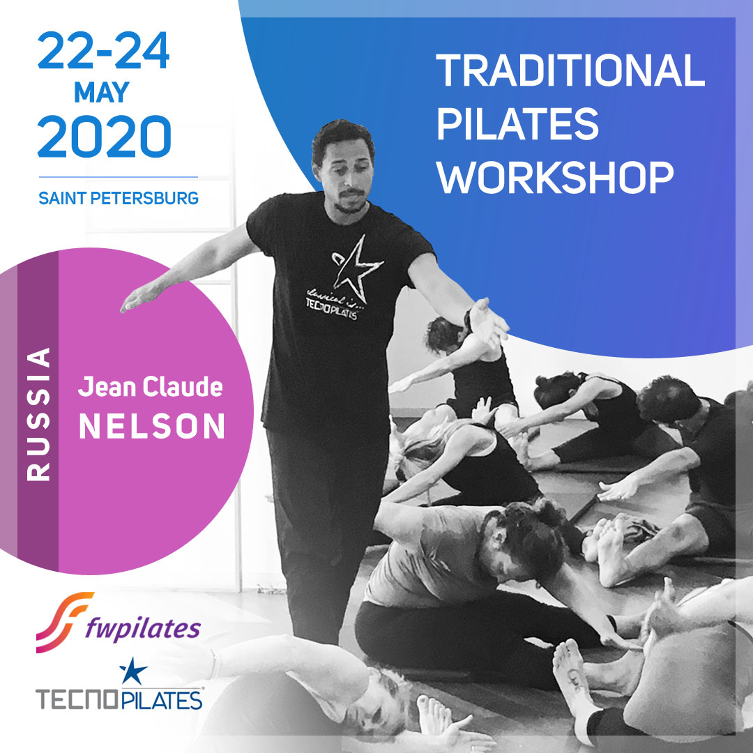 TRADITIONAL PILATES WORKSHOP 2020 IN ST PETERSBURG – RUSSIA