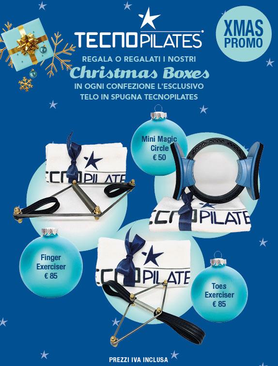 CHRISTMAS BOXES - IL REGALO PERFETTO PER CHI AMA E PRATICA IL PILATES!