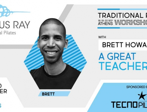 TRADITIONAL PILATES WORKSHOP ATHENS 2021 CON BRETT HOWARD | NUOVA DATA IN FASE DI DEFINIZIONE