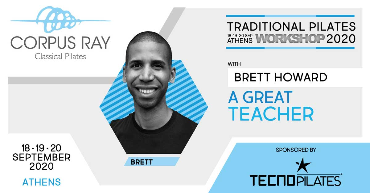 TRADITIONAL PILATES WORKSHOP ATHENS 2020 WITH BRETT HOWARD