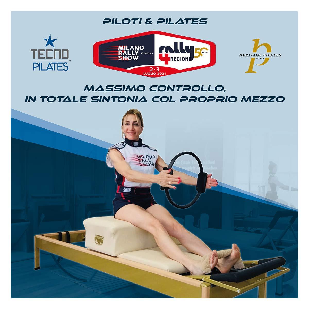 PILOTI E PILATES - SALICE TERME - RALLY 4 REGIONI | 2 LUGLIO 2021